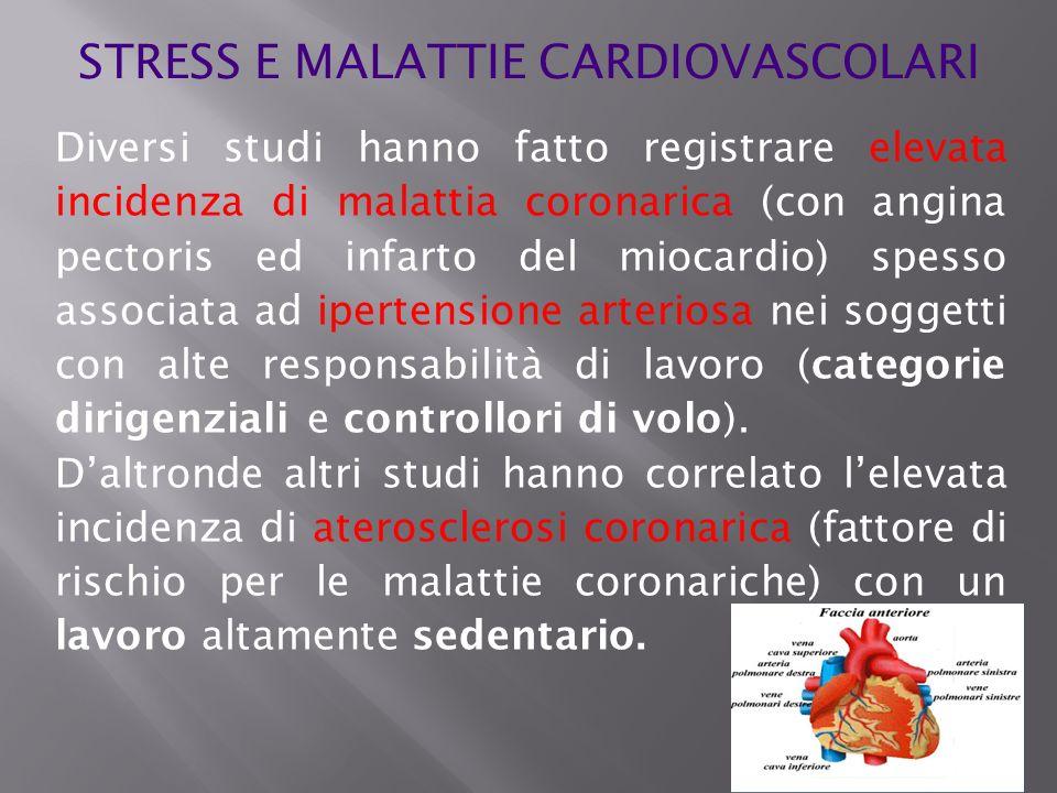 STRESS E MALATTIE CARDIOVASCOLARI