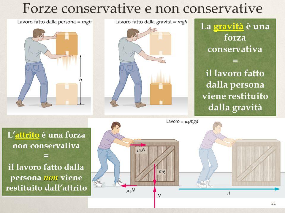 Forze conservative e non conservative