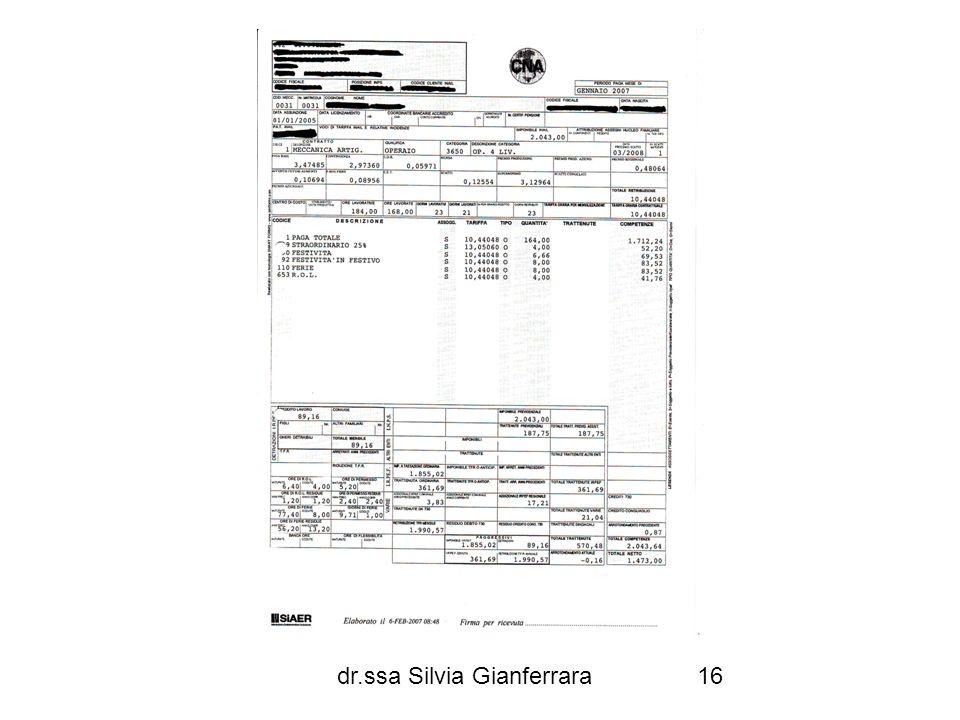 dr.ssa Silvia Gianferrara