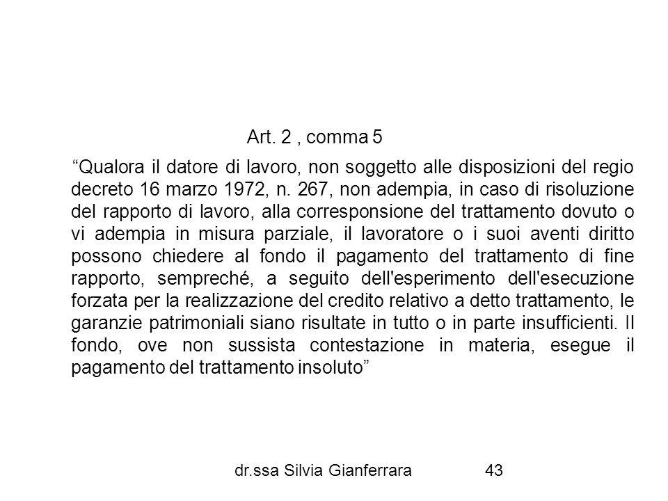 Art. 2 , comma 5