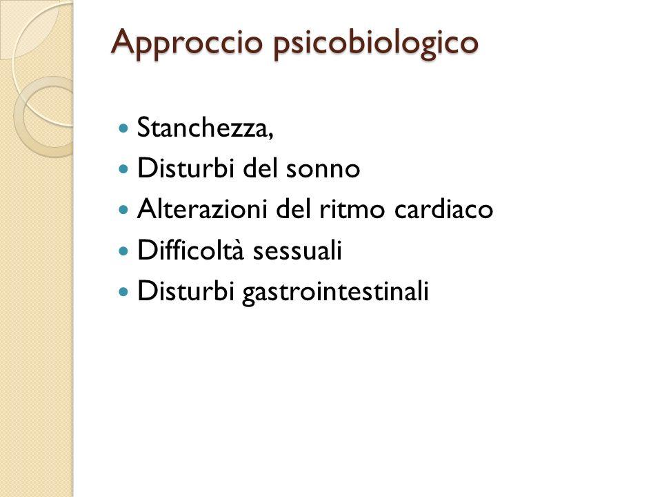 Approccio psicobiologico