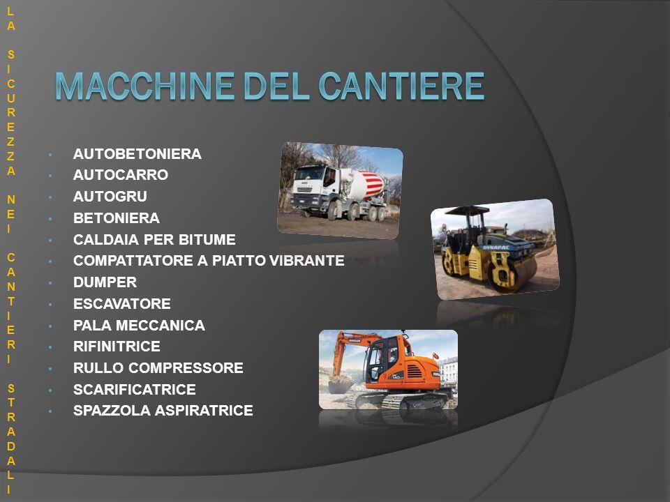 MACCHINE DEL CANTIERE AUTOBETONIERA AUTOCARRO AUTOGRU BETONIERA