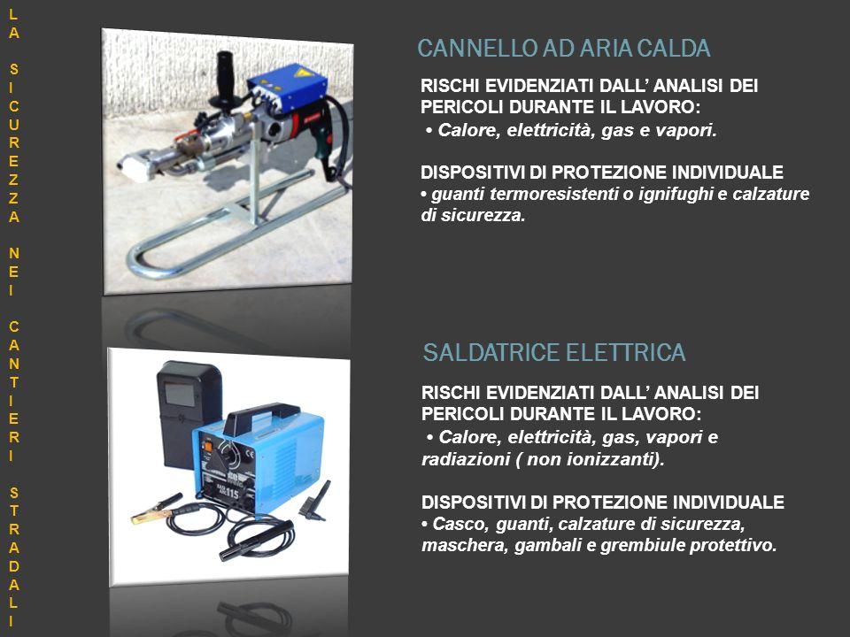 CANNELLO AD ARIA CALDA SALDATRICE ELETTRICA