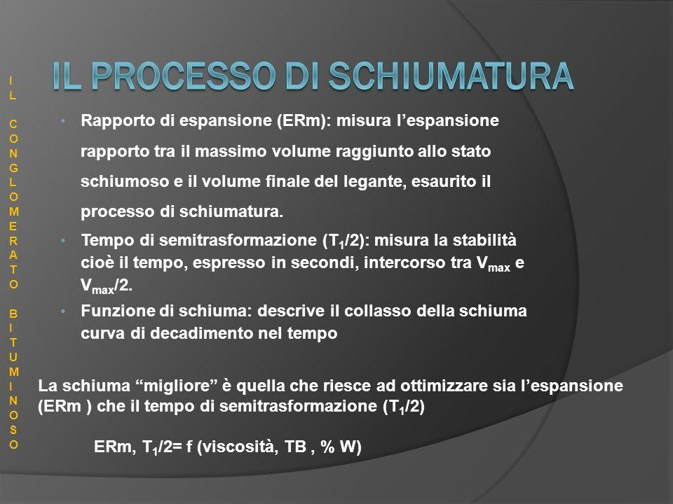 IL PROCESSO DI SCHIUMATURA