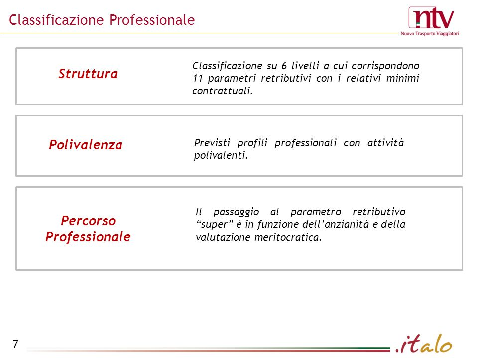 Classificazione Professionale