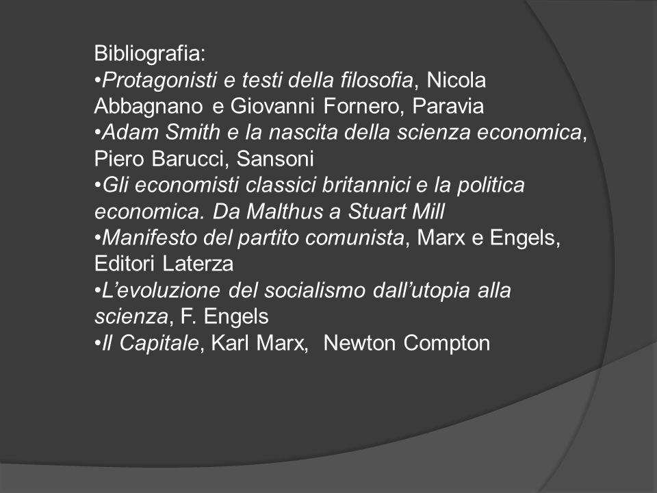 Bibliografia: Protagonisti e testi della filosofia, Nicola Abbagnano e Giovanni Fornero, Paravia.