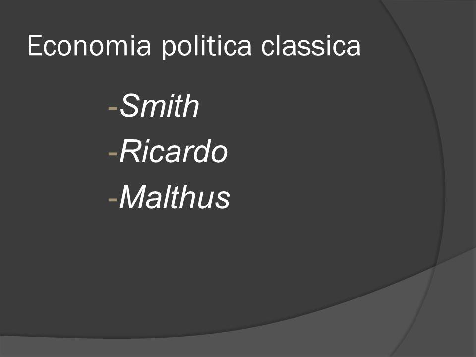 Economia politica classica
