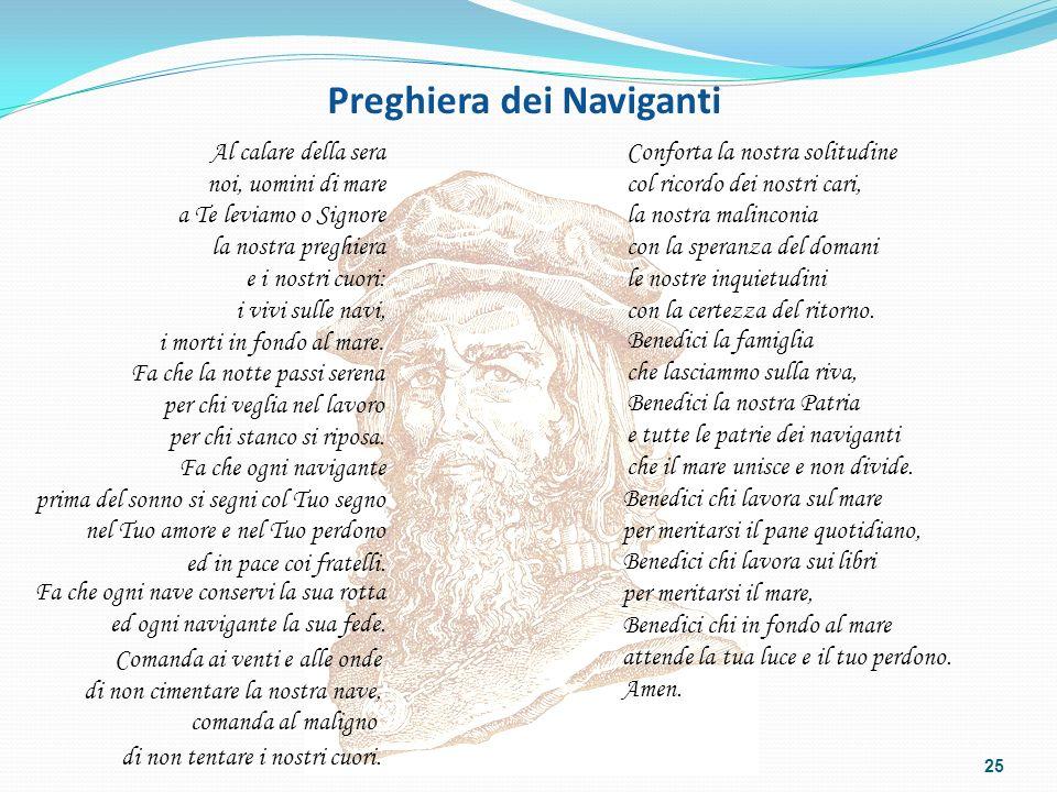 Preghiera dei Naviganti