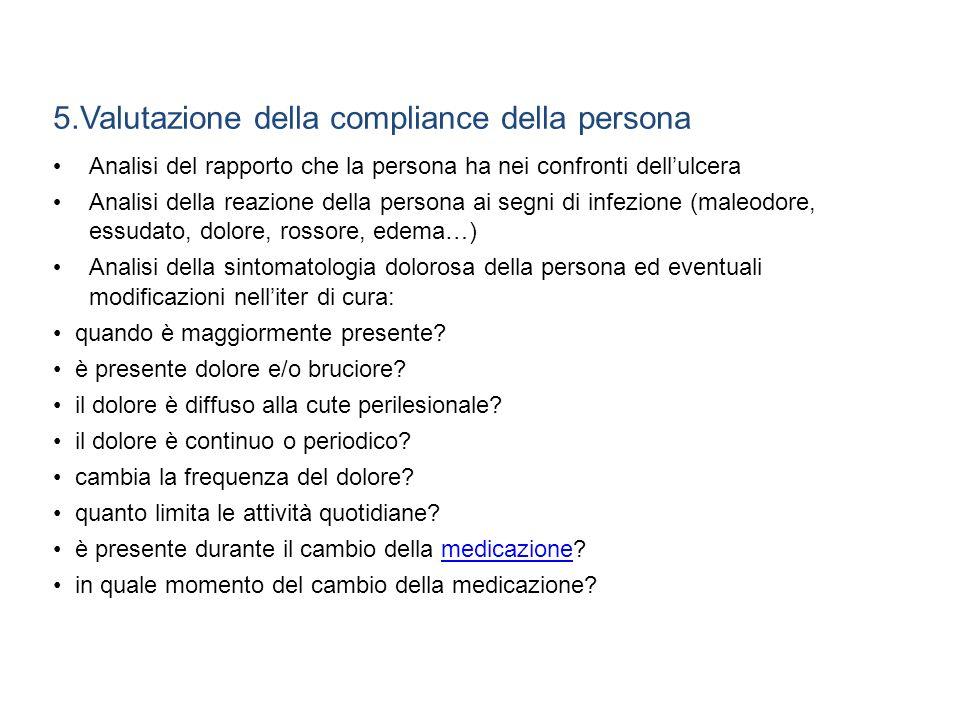 5.Valutazione della compliance della persona