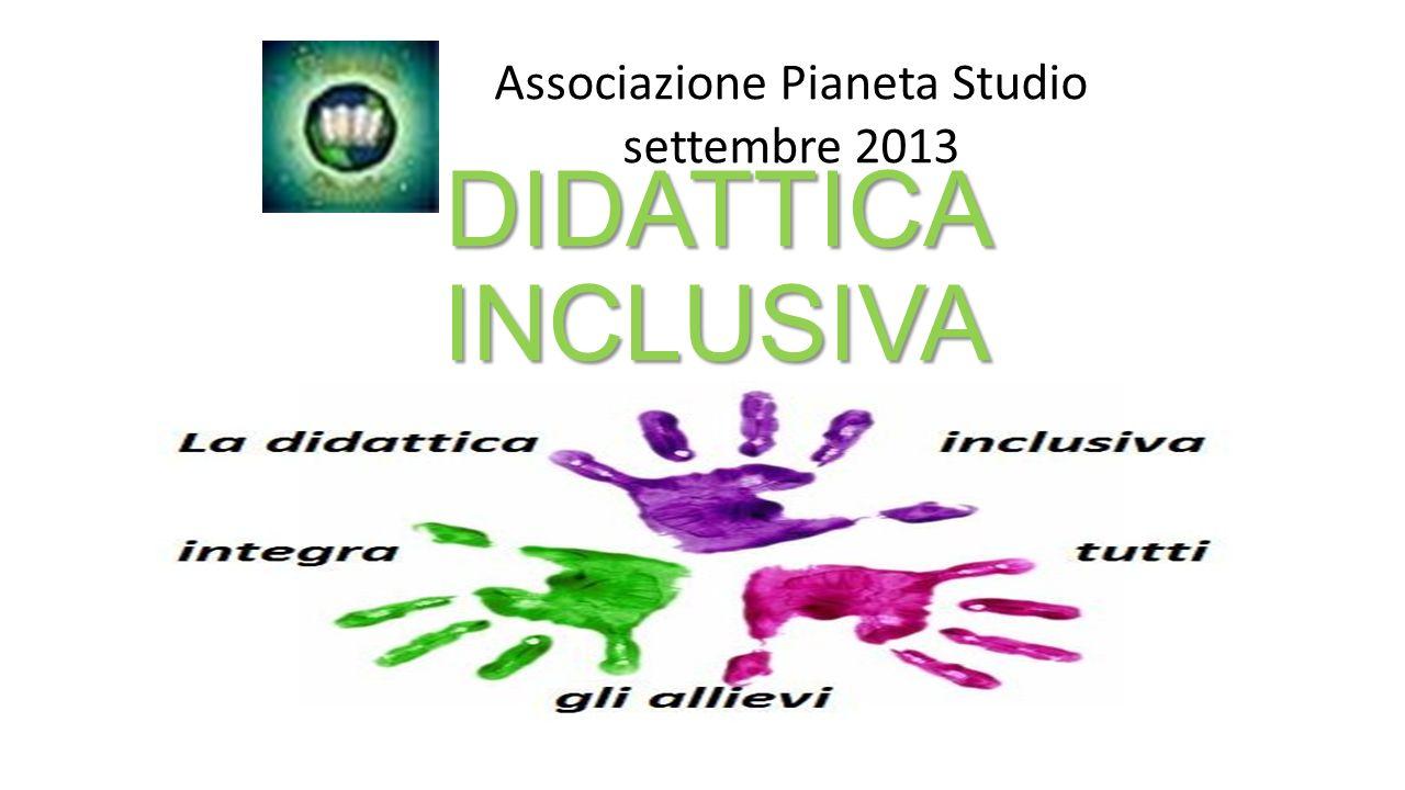 Associazione Pianeta Studio settembre 2013