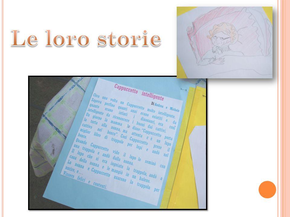 Le loro storie