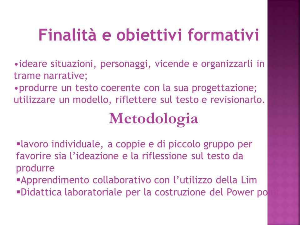 Finalità e obiettivi formativi