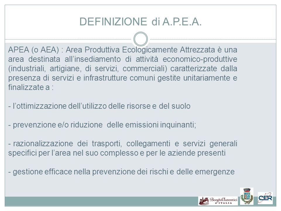 DEFINIZIONE di A.P.E.A.