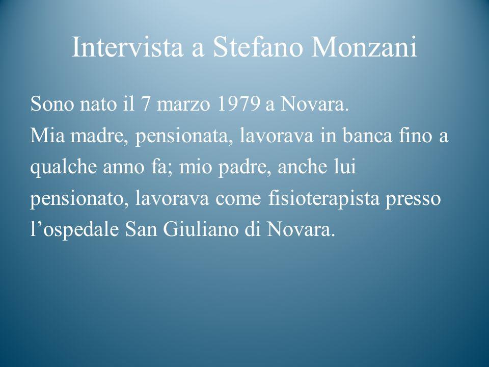 Intervista a Stefano Monzani