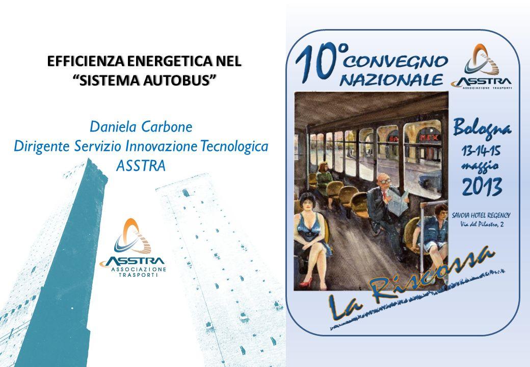EFFICIENZA ENERGETICA NEL SISTEMA AUTOBUS