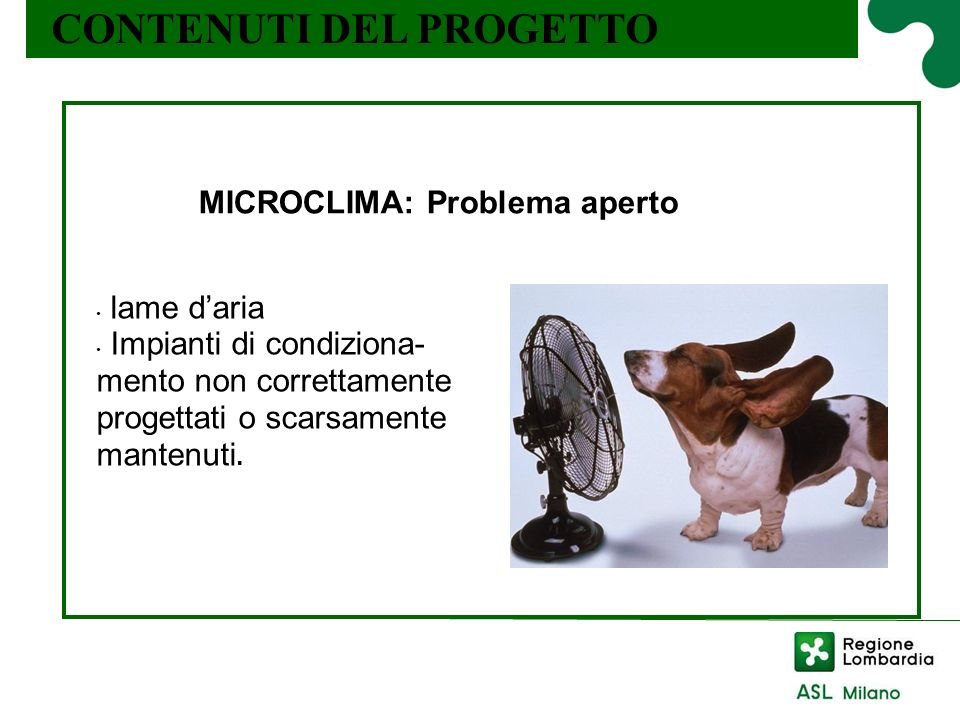 MICROCLIMA: Problema aperto