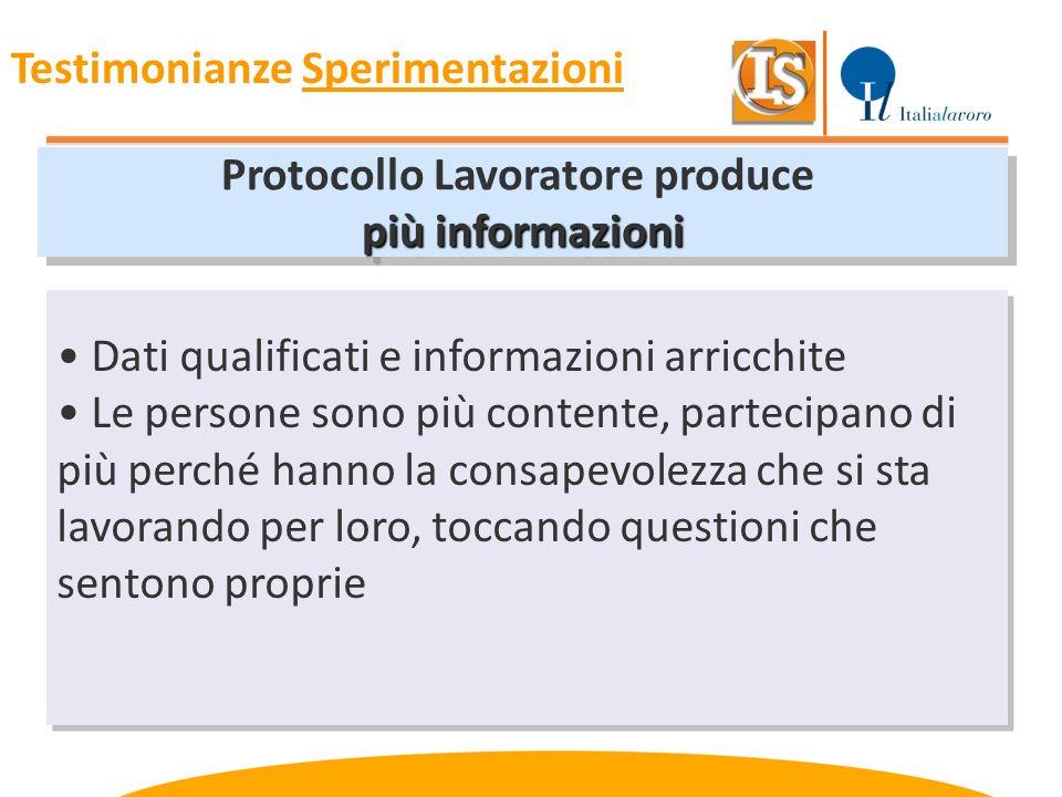Protocollo Lavoratore produce