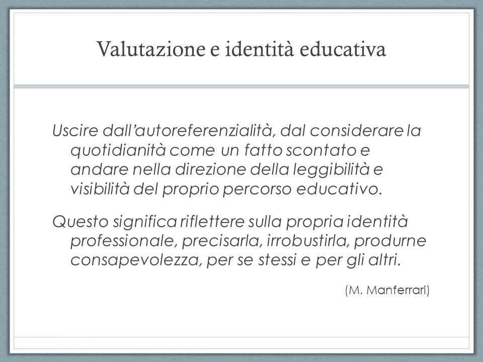 Valutazione e identità educativa