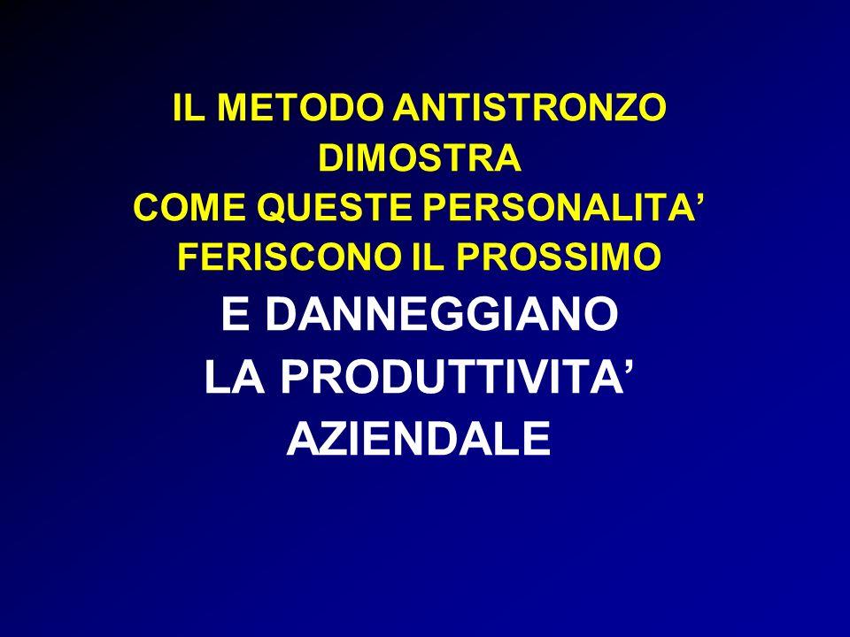 COME QUESTE PERSONALITA'
