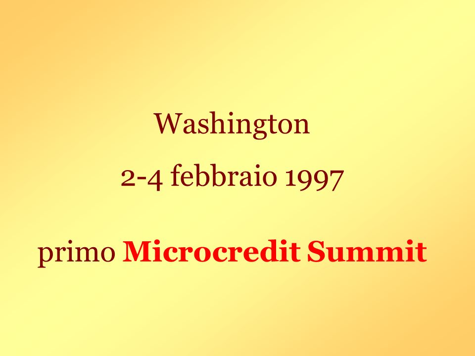 primo Microcredit Summit