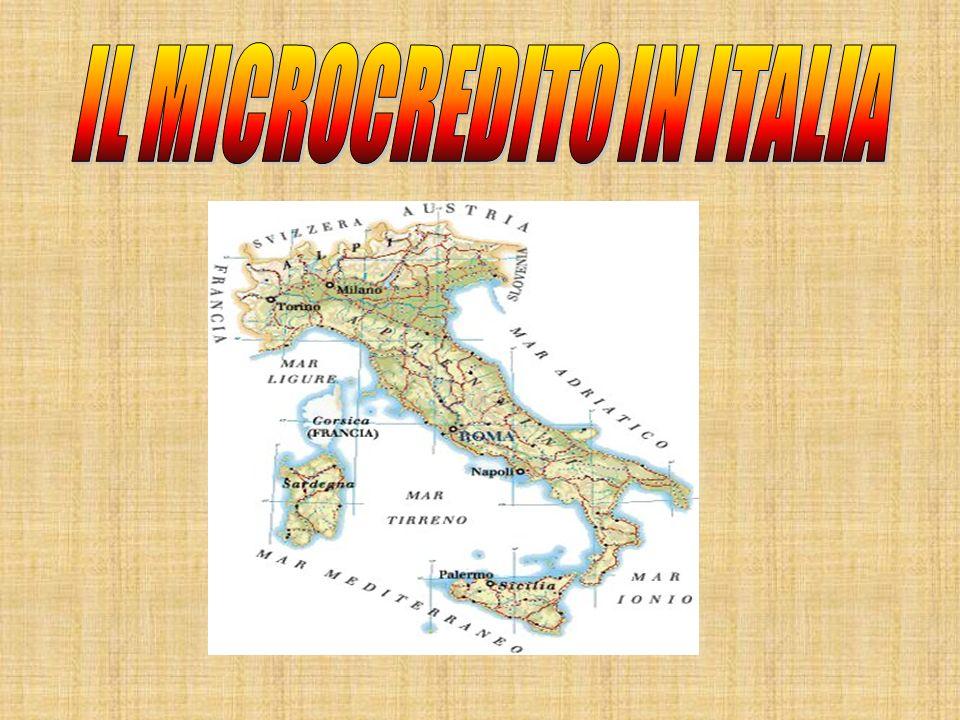 IL MICROCREDITO IN ITALIA