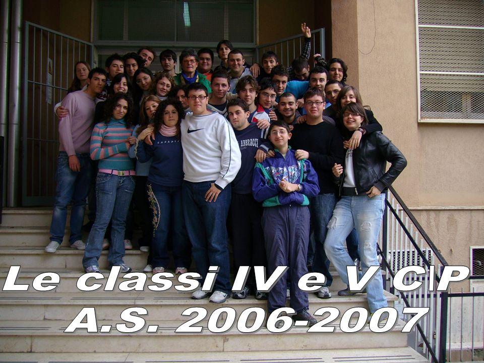 Le classi IV e V C\P A.S. 2006-2007