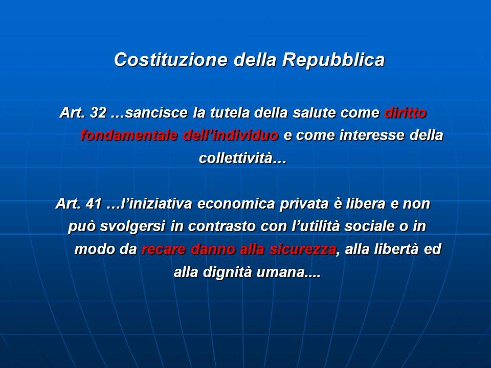 Costituzione della Repubblica