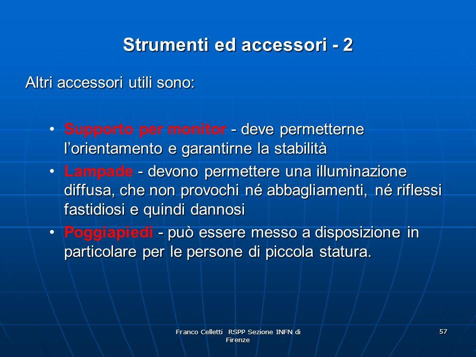 Strumenti ed accessori - 2