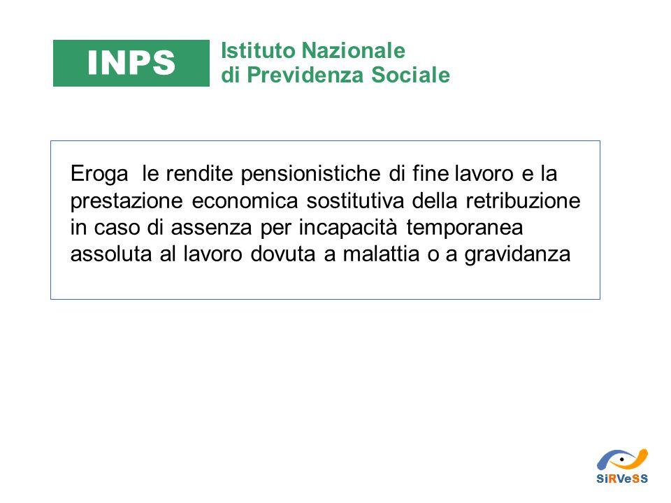 INPS Istituto Nazionale di Previdenza Sociale