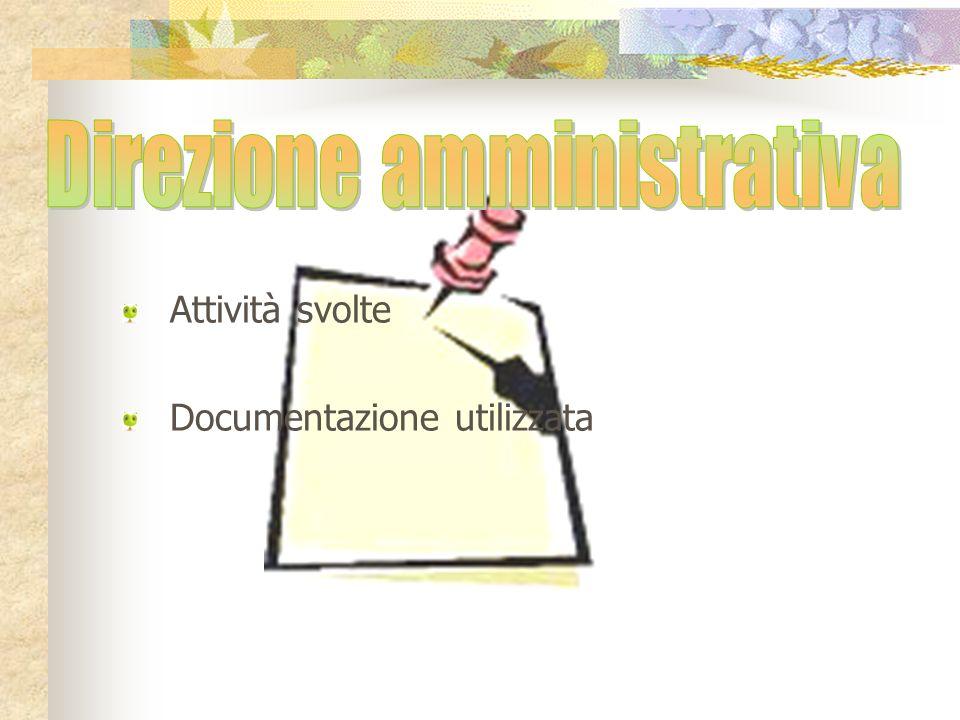 Direzione amministrativa