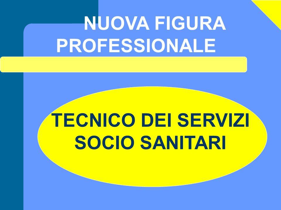 NUOVA FIGURA PROFESSIONALE TECNICO DEI SERVIZI SOCIO SANITARI