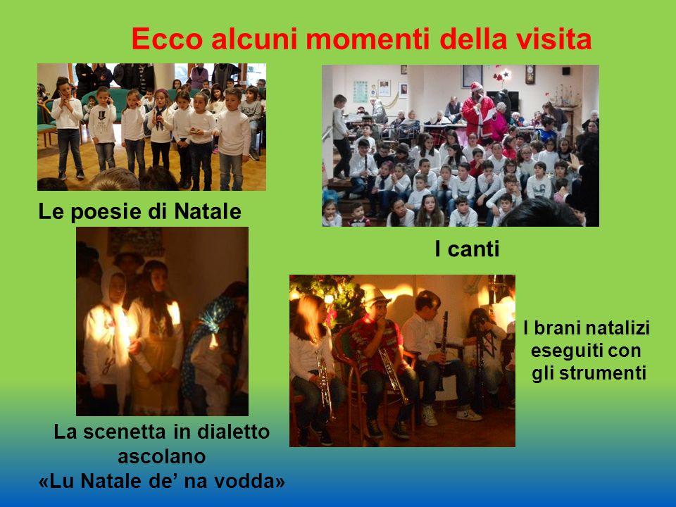 Ecco alcuni momenti della visita