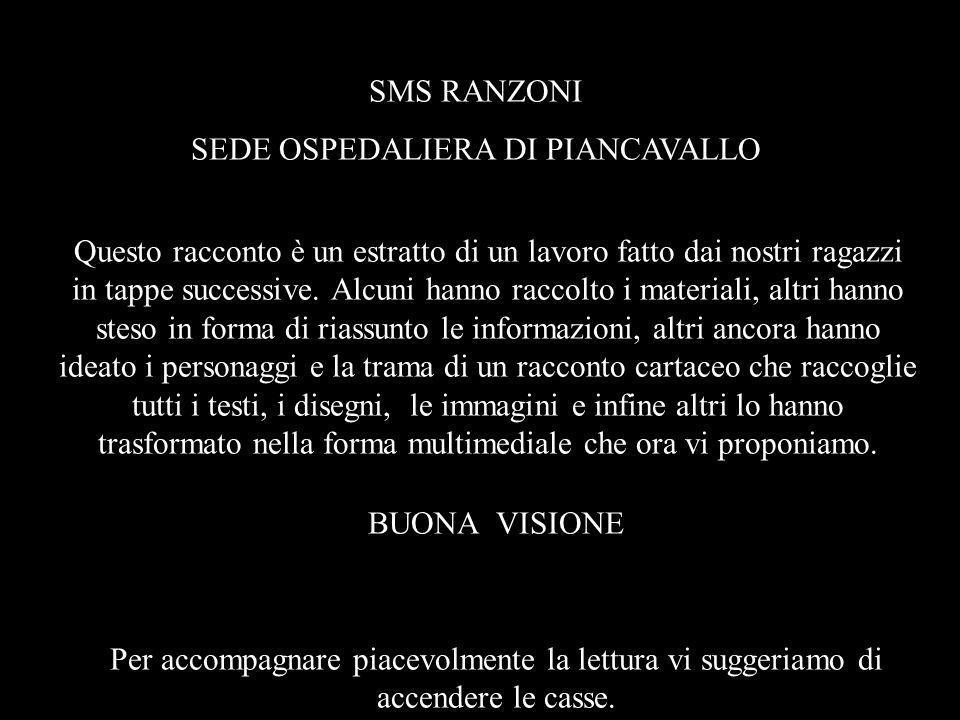 SEDE OSPEDALIERA DI PIANCAVALLO