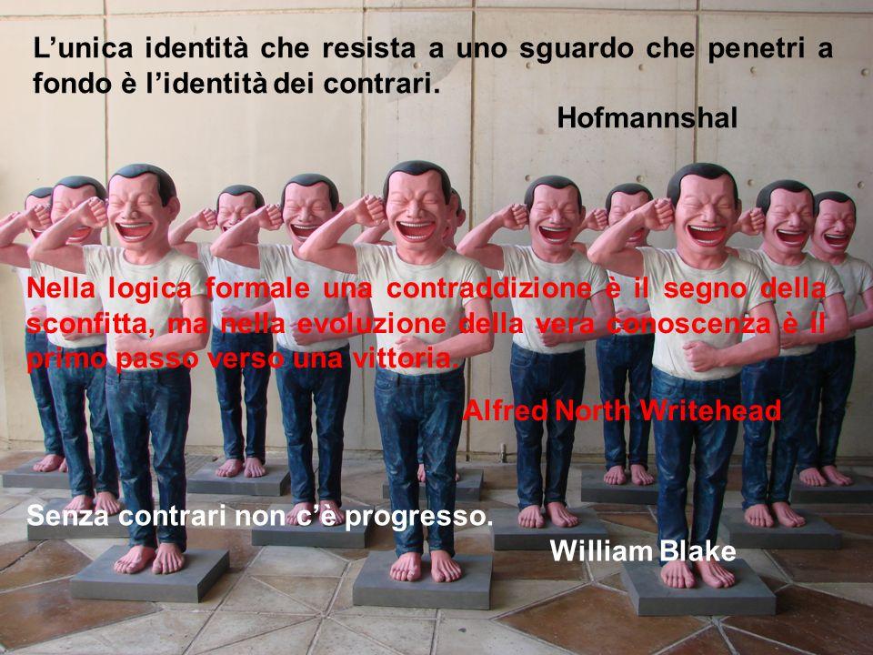 L'unica identità che resista a uno sguardo che penetri a fondo è l'identità dei contrari.