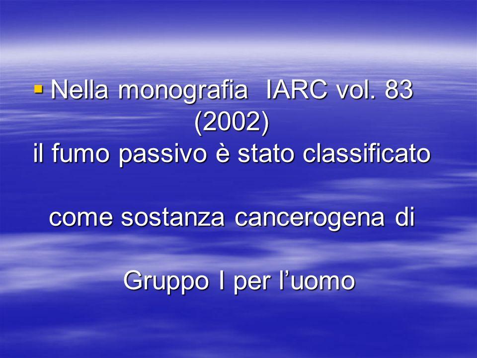 Nella monografia IARC vol