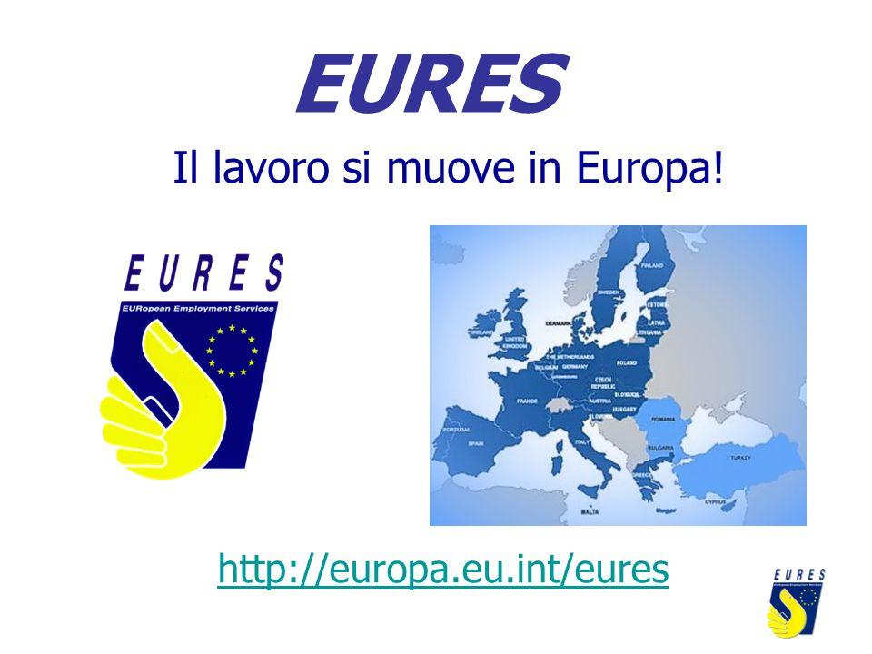 Il lavoro si muove in Europa!