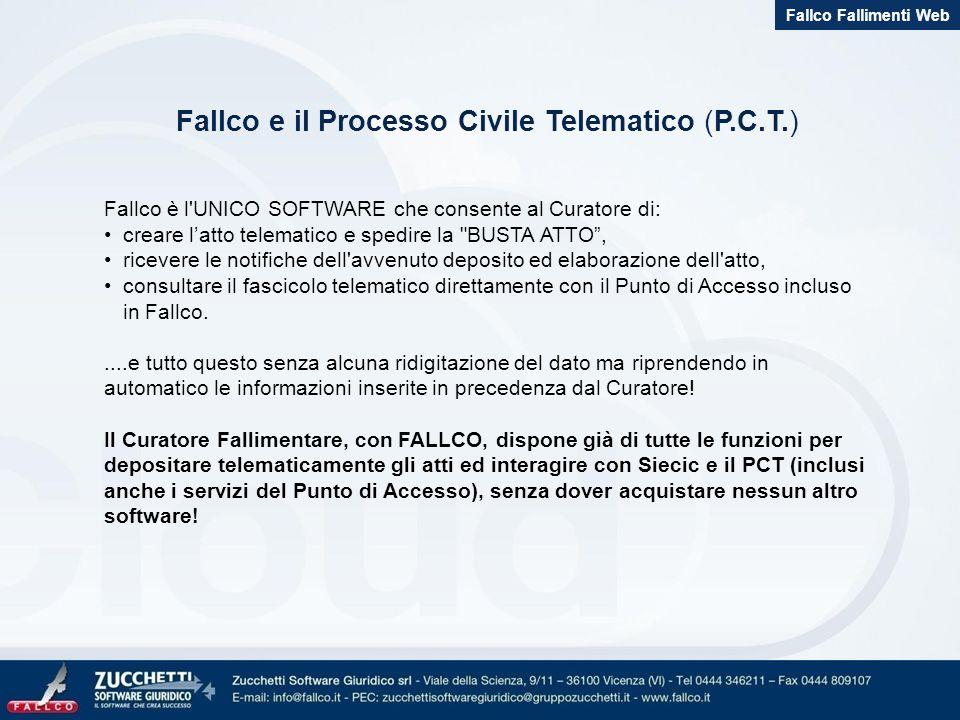 Fallco e il Processo Civile Telematico (P.C.T.)