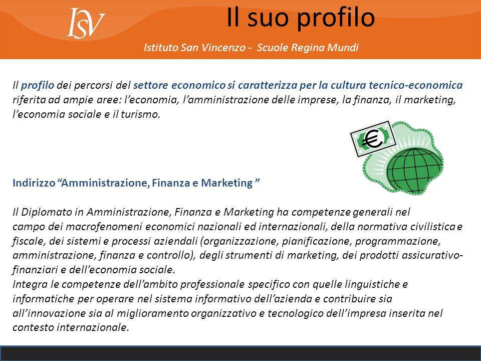 Il suo profilo Istituto San Vincenzo - Scuole Regina Mundi