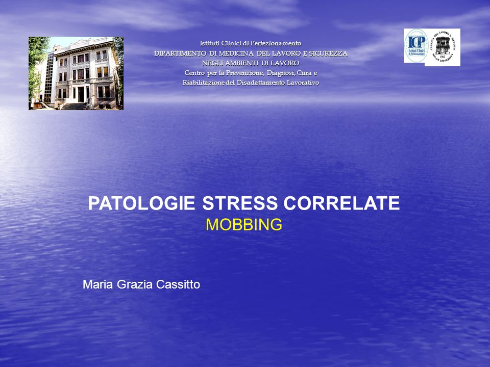 PATOLOGIE STRESS CORRELATE