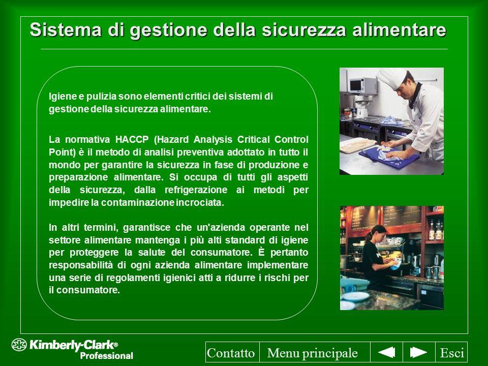 Sistema di gestione della sicurezza alimentare