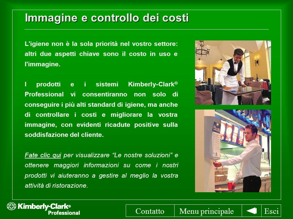 Immagine e controllo dei costi