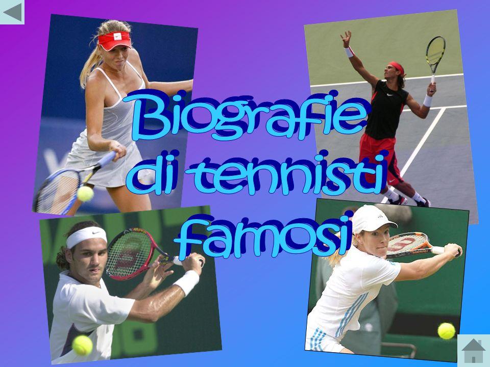 Biografie di tennisti famosi
