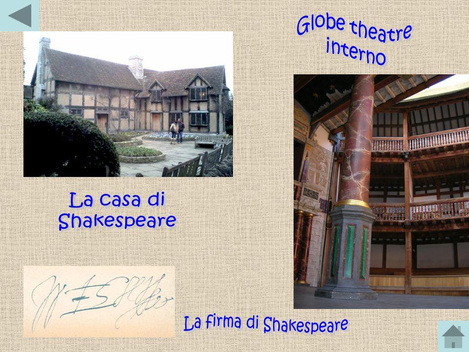 La firma di Shakespeare