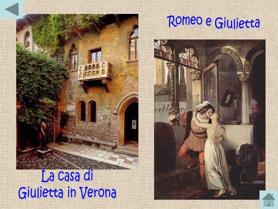 Romeo e Giulietta La casa di Giulietta in Verona