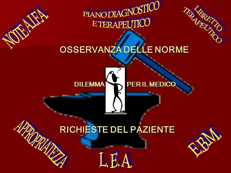 PIANO DIAGNOSTICO E TERAPEUTICO LIBRETTO TERAPEUTICO NOTE A.I.F.A.