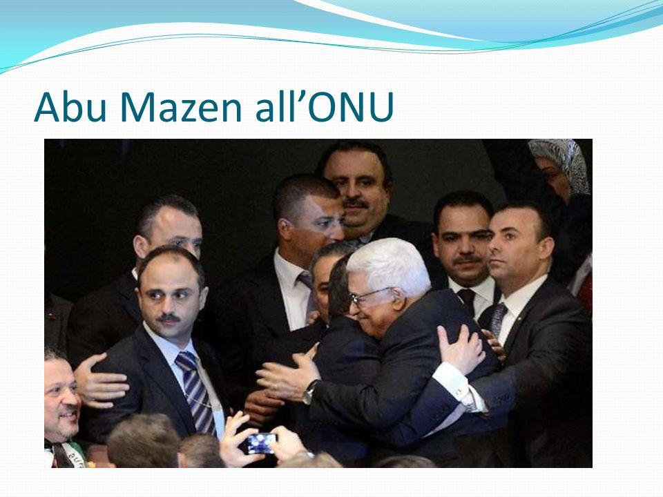 Abu Mazen all'ONU