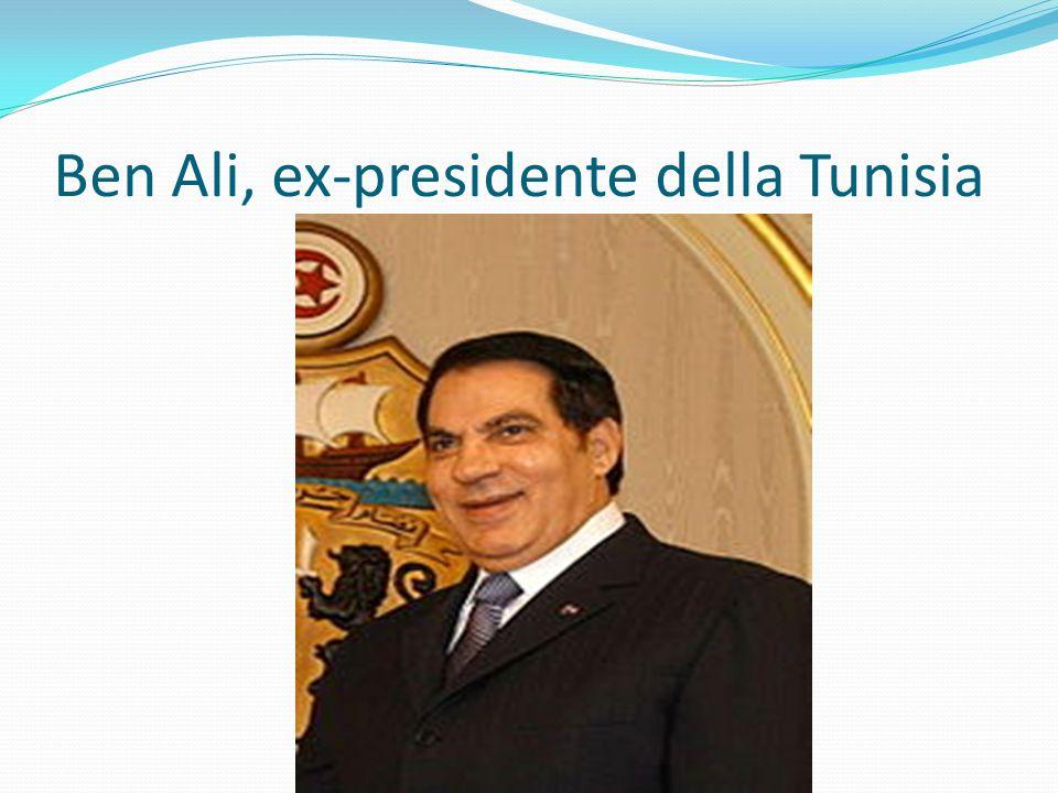 Ben Ali, ex-presidente della Tunisia