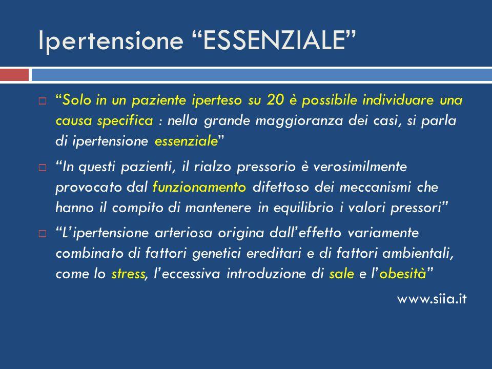Ipertensione ESSENZIALE