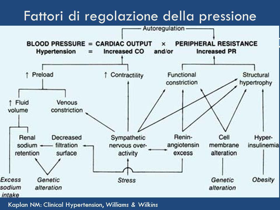 Fattori di regolazione della pressione