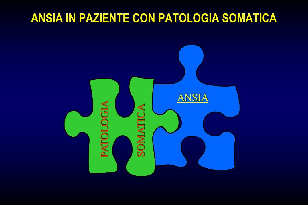 ANSIA IN PAZIENTE CON PATOLOGIA SOMATICA